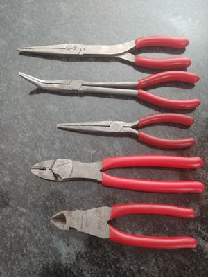 Snap-on Tools Pliers / cutter set for Sale in Romeoville, IL