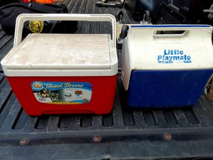 2 small coolers ($5 for both) for Sale in Marietta, GA