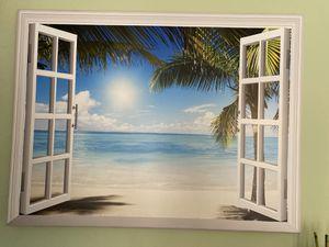 Peaceful beach scene acrylic paint for Sale in Orlando, FL