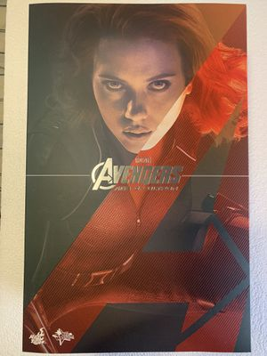 Hot Toys Age of Ultron Black Widow for Sale in Glendora, CA
