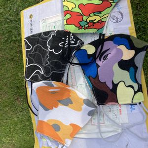Bathing Ape Fabric Masks 100% Authentic Fabric for Sale in Arlington, VA