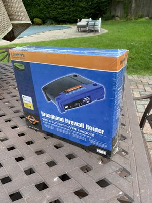 Linksys EtherFast BEFSX41 Firewall Router (New & Unopened) for Sale in East Northport, NY