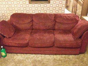 Red sofa for Sale in Mulvane, KS