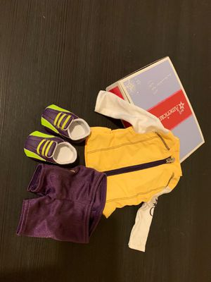 American girl doll cycling outfit for Sale in Irwin, PA
