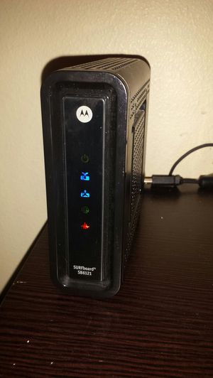 Motorola cable modem for Sale in Eugene, OR
