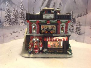 Christmas village house from st Nicholas Square collection, Santa's toy shop for Sale in Gilbert, AZ