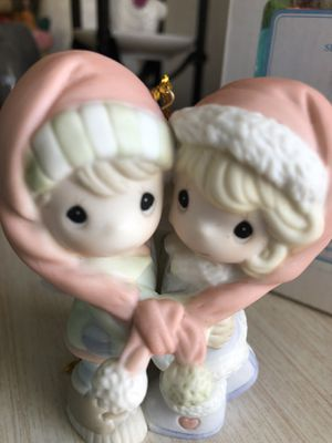 "Precious Moments ""our first Christmas Together 3010"" porcelain bisque ornament for Sale in San Diego, CA"