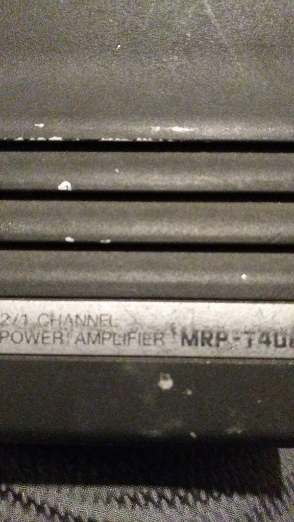ALPINE FLEX 2 amplifier!