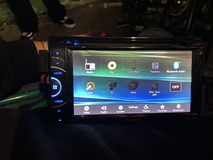 pioneer bluetooth double din for Sale in Los Angeles, CA