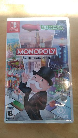 Monopoly for Nintendo switch for Sale in Redlands, CA