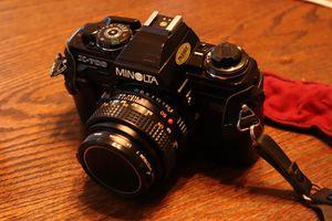 Minolta X-700 SLR Film Camera w/ Case & Lens for Sale in Midlothian, VA