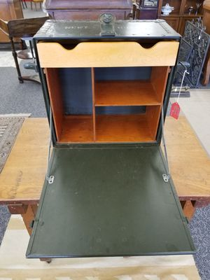 US military WW2 officers field desk vintage antique for Sale in Vancouver, WA