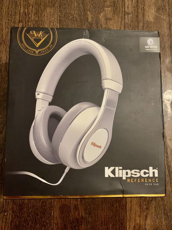 Klipsch Reference over ear wired headphones - new!