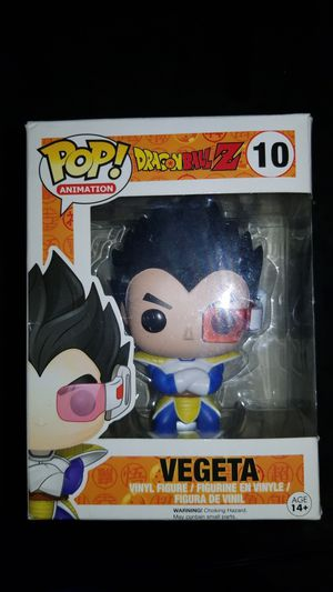 DbZ#10 vegeta Pop animation brand new in box for Sale in Long Beach, CA