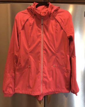 Zella Womens Full Zip Running Jacket Windbreaker Pink Size for Sale in Kirkland, WA