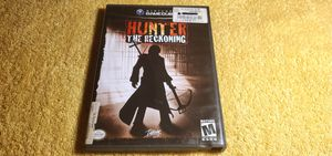 HUNTER THE RECKONING GAMECUBE GAME COMPLETE for Sale in Missouri City, TX