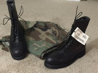 Combat boots DSCP (Addison Shoe Company) for Sale in Silver Spring,  MD