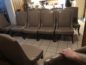 Quality high back chairs great for conference rooms offices dining room chairs or waiting room for Sale for sale  Mableton, GA