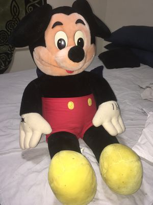 Mickey Mouse Vintage Stuffed Souvenir from Disney World Florida for Sale in Pekin, IL