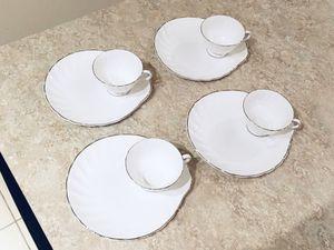 Tea Cups & Snack Plates for Sale in Herndon, VA
