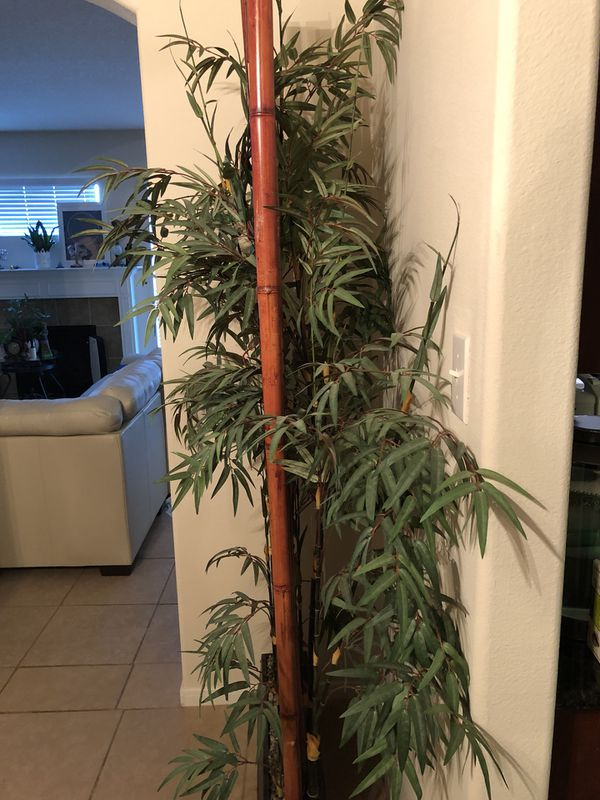 Large artificial bamboo decor