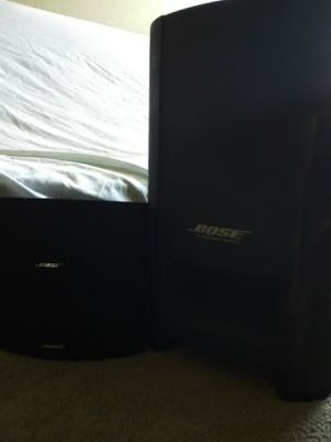 Bose cinemate series 2 digital theater main subwoofer and 2 field speakers for Sale in Antioch, CA