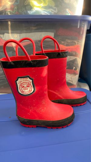 Carters firefighter rain boots for Sale in Woodbridge, VA