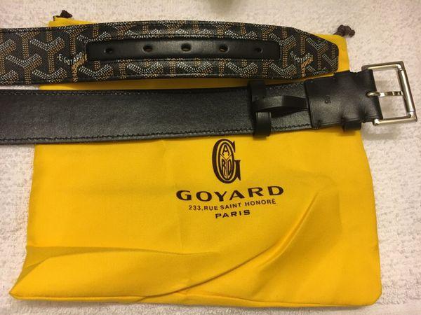1a69f28b146 Maison E. Goyard Belt SZ 95   SZ 100 for Sale in Newark