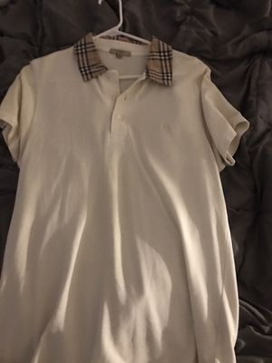 Men's Burberry polo for Sale in Elkins Park, PA
