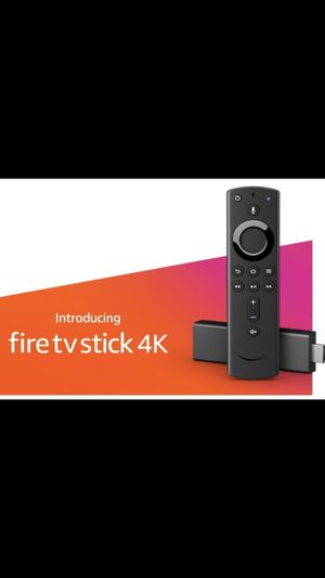 Unlocked Amazon 4K fire tv stick for Sale in Oak Lawn, IL