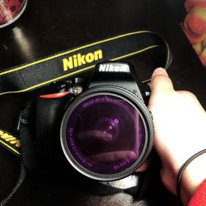 Nikon D3500 camera for Sale in Moreno Valley, CA