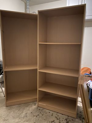 Two bookshelves for Sale in Greensboro, NC