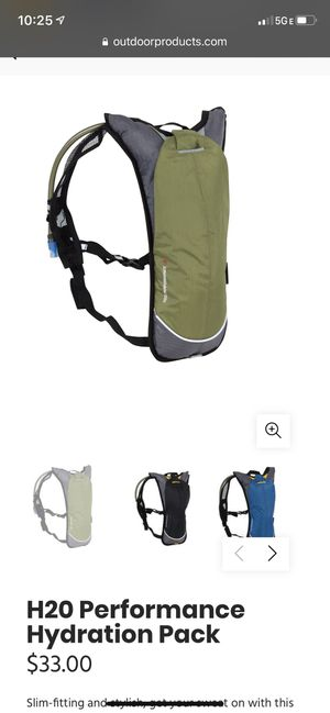Hydration backpack-hiking gear for Sale in Largo, FL