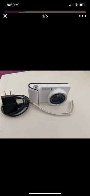 Samsung Galaxy Camera EK-GC110 16.3MP Digital Camera - White for Sale in Anaheim, CA