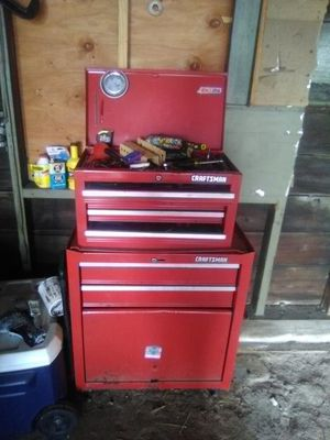 Craftsman tool box and tools for Sale in Pawtucket, RI