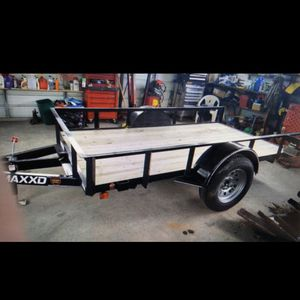 5x10 2018 MAXXD Tilt Utility Trailer for Sale in Vancouver, WA