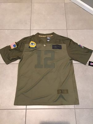 Men's Green Bay Packers Aaron Rodgers Camo 2019 Salute To Service Limited Jersey for Sale in Northbrook, IL