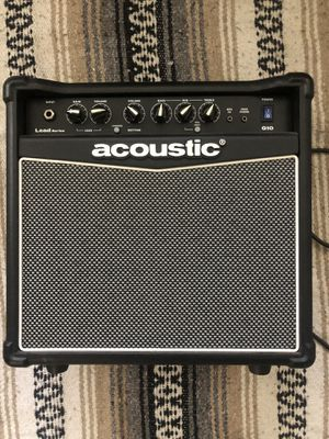Amp-lightweight and easy to lug around. for Sale in Los Angeles, CA