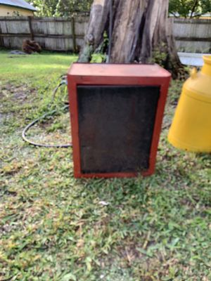 Antique metal cabinet for Sale in Tampa, FL