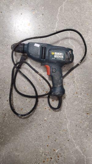 Black & Decker Corded Drill for Sale in Gretna, LA