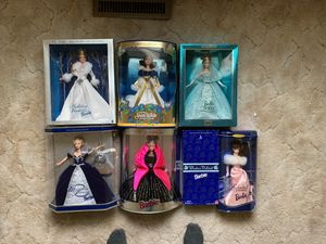 Special Edition Collectible Barbie Dolls for Sale in Decorah, IA