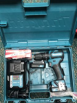 Hammer Drill, Tools-Power Makita in Case 2 Batteries 12V W/ Charger for Sale in Baltimore,  MD