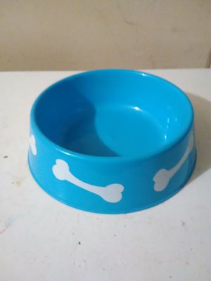 Plastic dog bowl for Sale in CHURCH HILL, TN