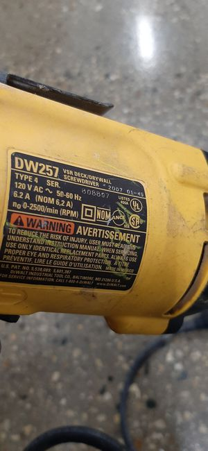 Dewalt drywall drill for Sale in Addison, IL