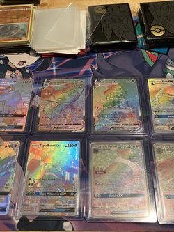 Pokemon TCG Vmax & GX Rainbow Rare Set (Near Mint/Mint) for Sale in Seattle,  WA