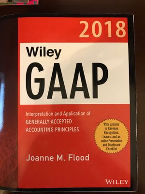 2018 Wiley GAAP Interpretations and Application of Generally Accepted Accounting Principles for Sale in Roanoke, VA