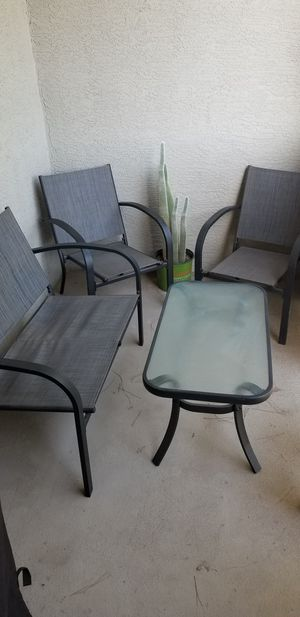 Outdoor furniture for Sale in Chandler, AZ