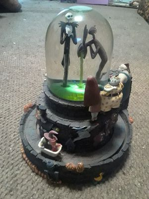 Nightmare Before Christmas Snow globe for Sale in Long Beach, CA