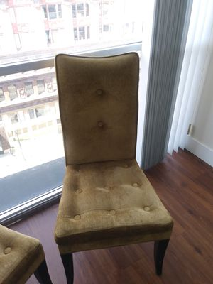 2 Dining room chairs PICK UP DOWNTOWN for Sale in St. Louis, MO