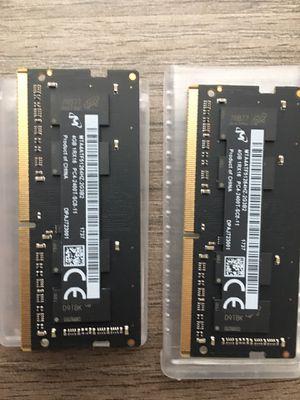 Imac 5k 8gb (4gb x 2) ddr4 1rx18 pc4 2400t sco 11 ram BRAND NEW!!! for Sale in Wentzville, MO